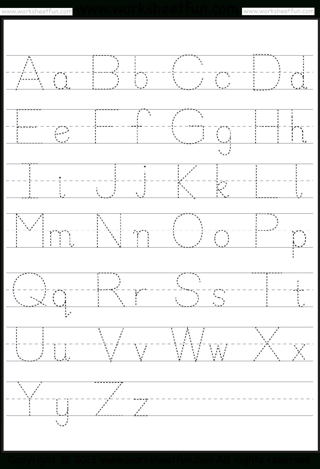 K5 Learning Worksheets Abc | Printable Worksheets And for Abc 123 Tracing Pages
