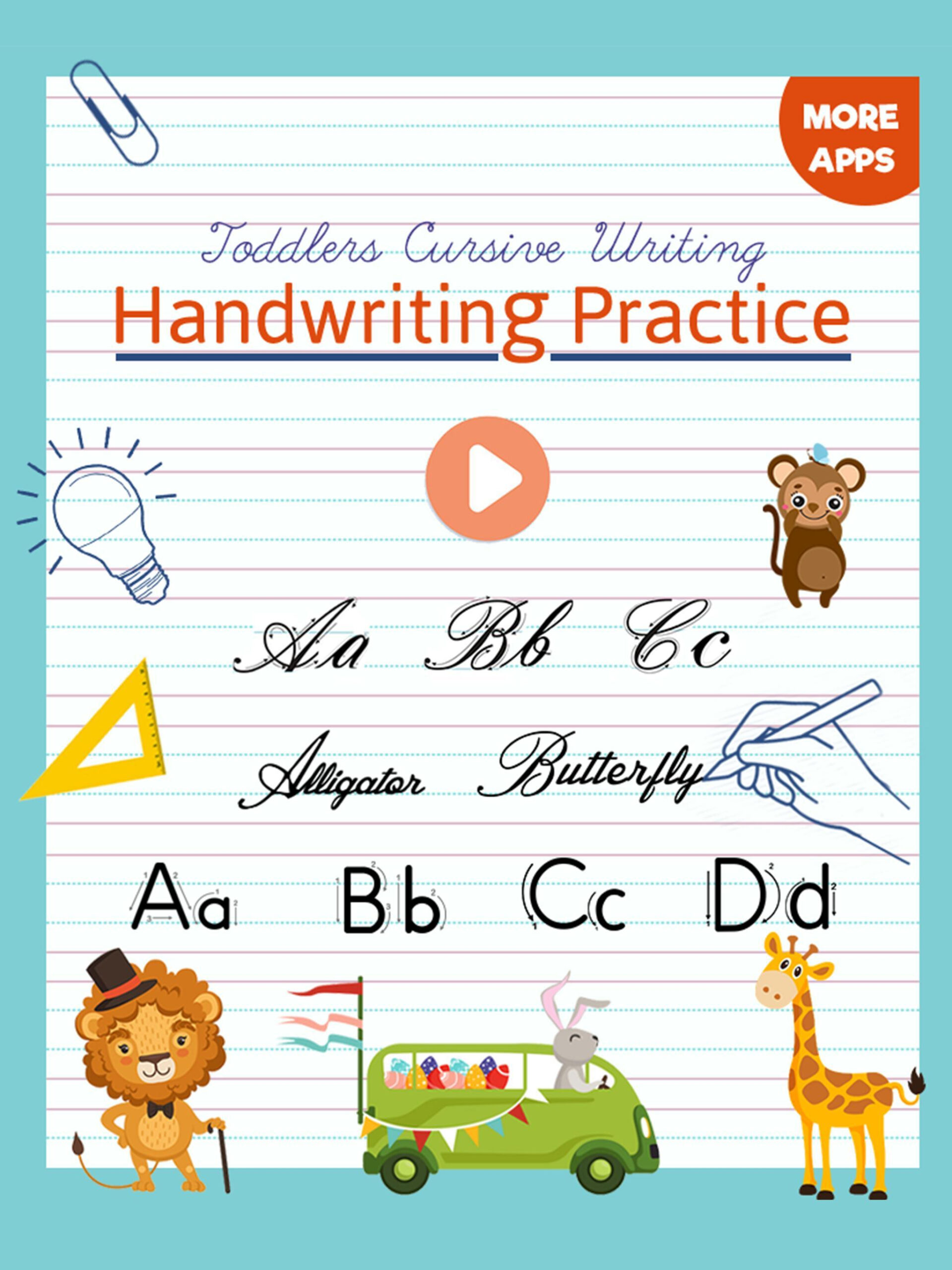 Kids Cursive Writing - Learn Cursive Handwriting For Android