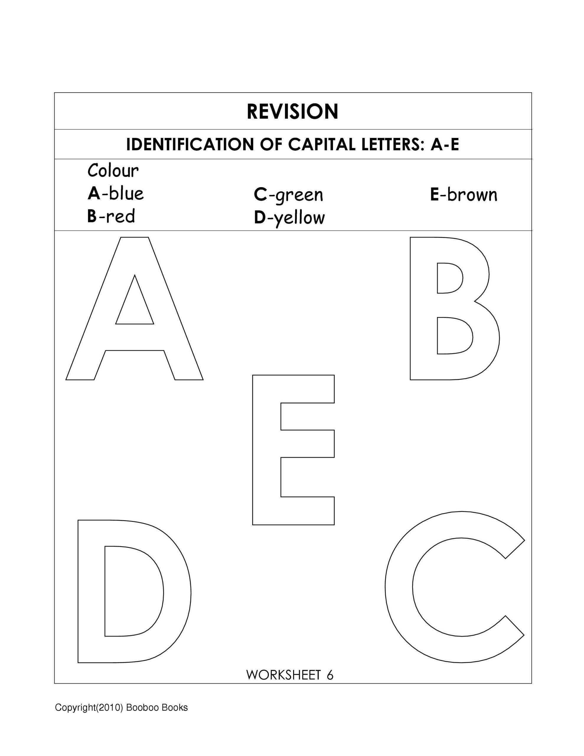 Kindergarten Alphabet Worksheets | Alphabet Worksheets in Alphabet Revision Worksheets/kindergarten