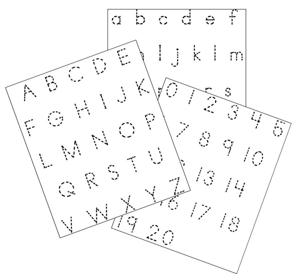 Large Letter Tracing Worksheets Printable – Kingandsullivan
