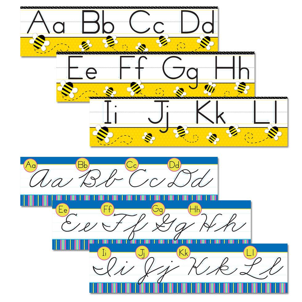 Lauren Gregory » Alphabet Borders