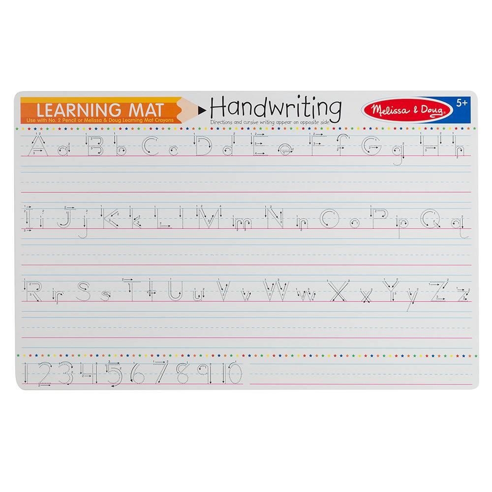 Learning Mat- Handwriting