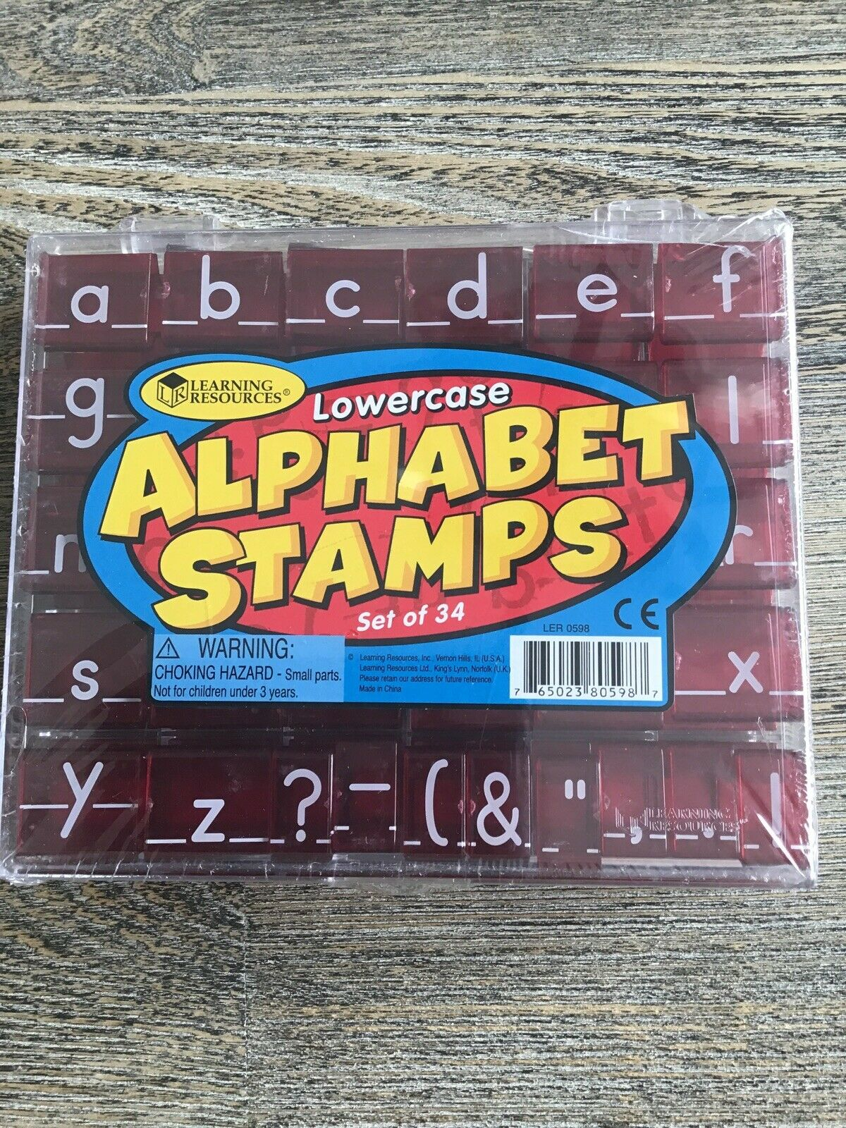 Learning Resources Lowercase Alphabet Stamps Set Of 34 pertaining to Alphabet Tracing Stamps