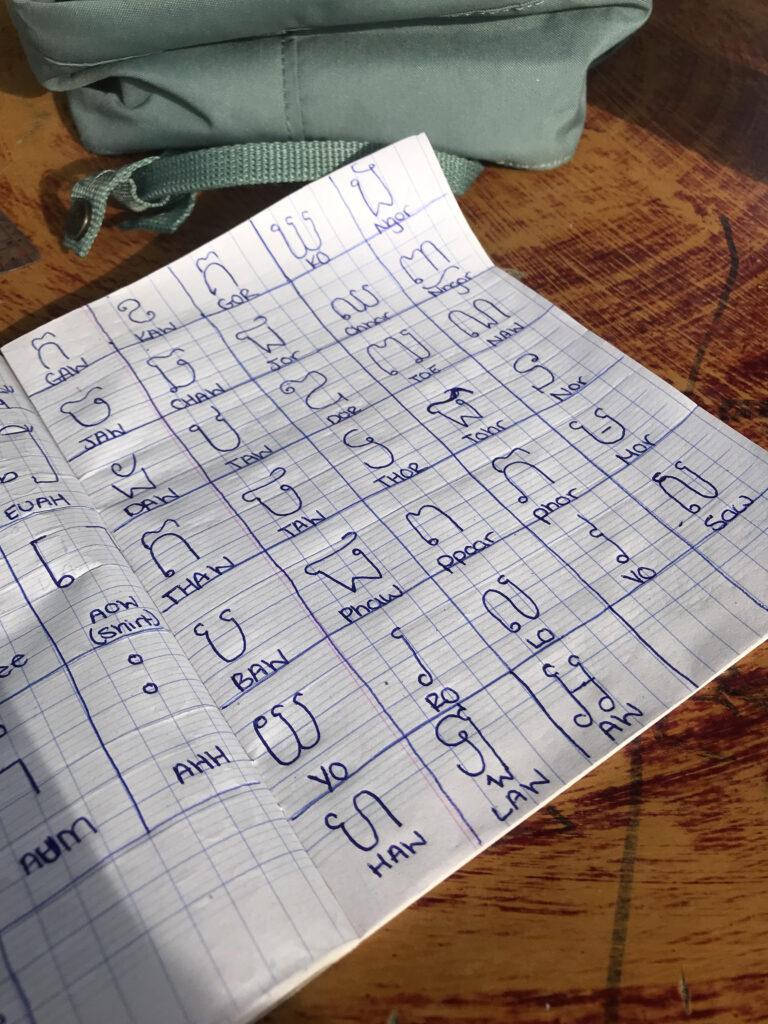 Learning The Khmer Alphabet : Languagelearning