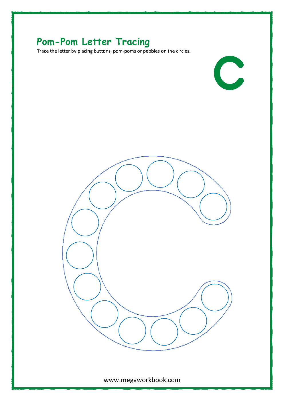 Letter C Activities - Letter C Worksheets - Letter C throughout Letter C Worksheets For Preschool