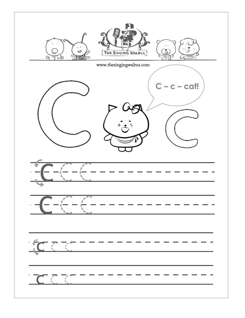 Letter C Worksheets To Learning. Letter C Worksheets   Misc For Letter C Worksheets For Kindergarten