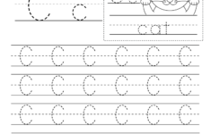 Letter C Worksheets Printable