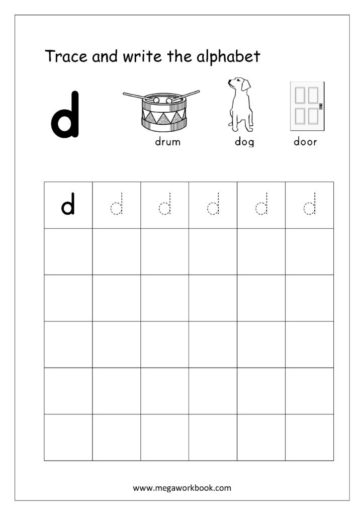 Letter D Worksheets For Educations. Letter D Worksheets With Regard To Letter D Worksheets For 2 Year Olds