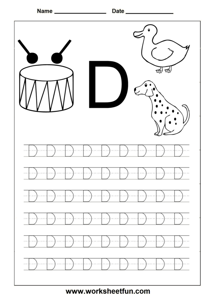 Letter D Worksheets Hd Wallpapers Download Free Letter D With D Letter Tracing
