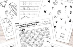 Alphabet Identification Worksheets