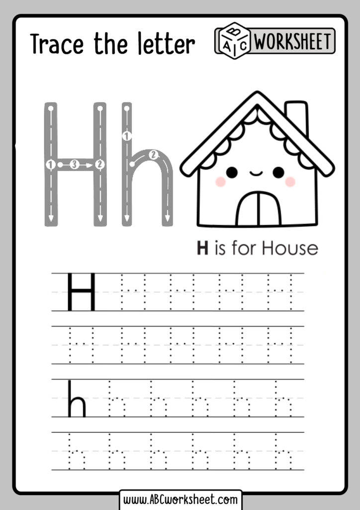 Letter H Worksheets Dr | Printable Worksheets And Activities With Regard To Letter H Worksheets Twisty Noodle