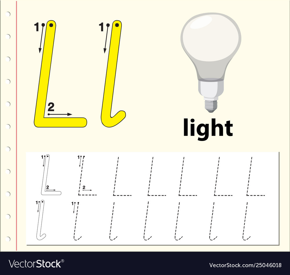 Letter L Tracing Alphabet Worksheets intended for Alphabet L Tracing
