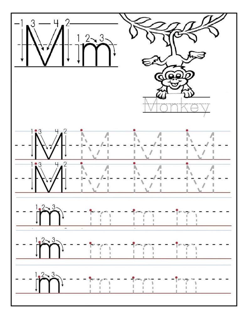 Letter M Worksheets | Activity Shelter Within Letter M Worksheets For Kindergarten Free