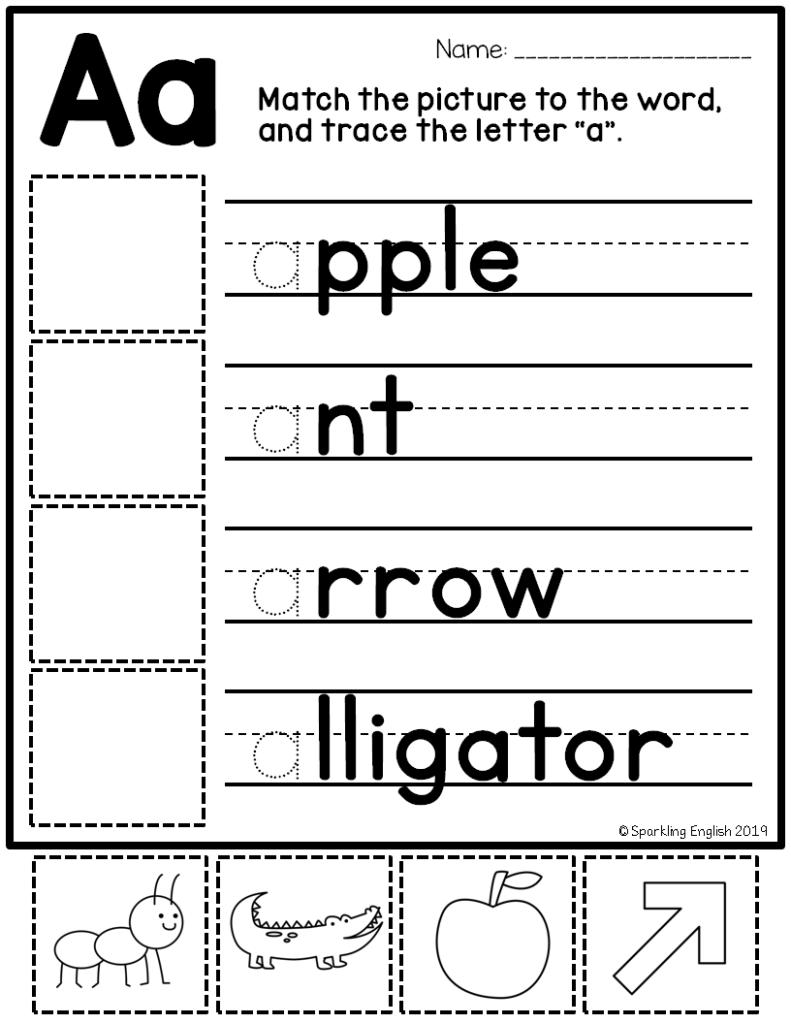 Letter Of The Week A To Z Bundle | Letter Identification Pertaining To Letter Identification Worksheets