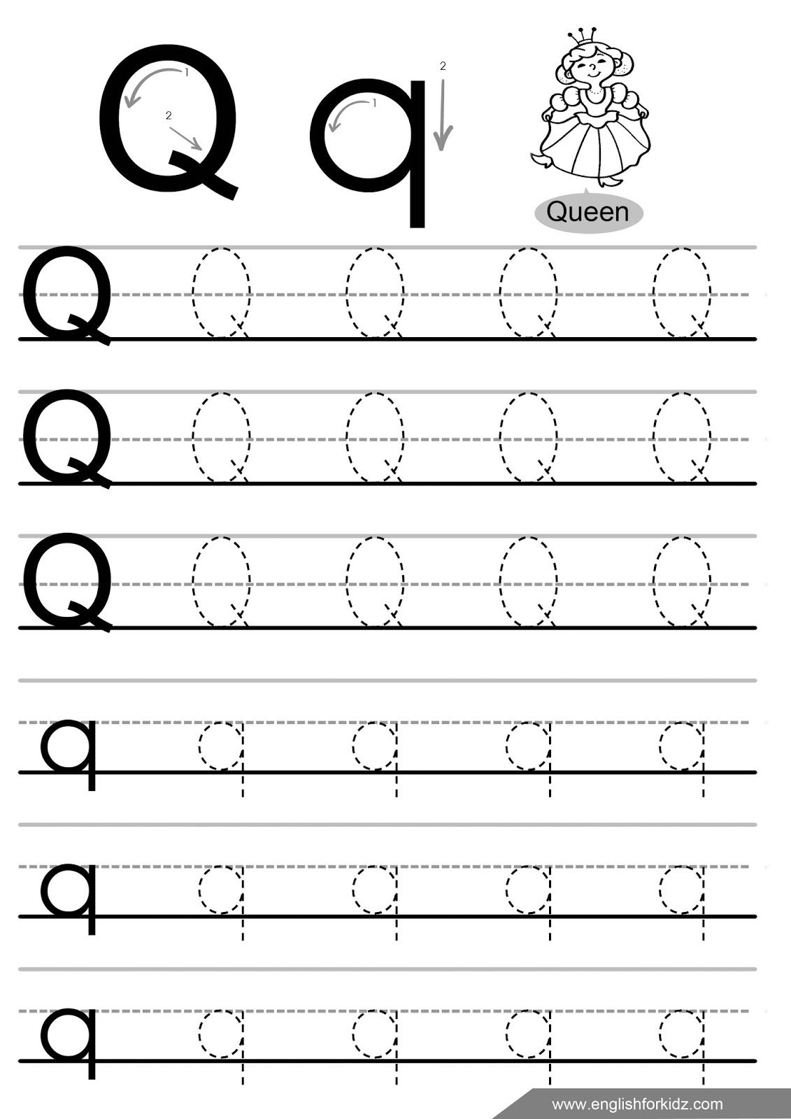 Letter-Q-Tracing-Worksheet (1131×1600) | Letter Tracing