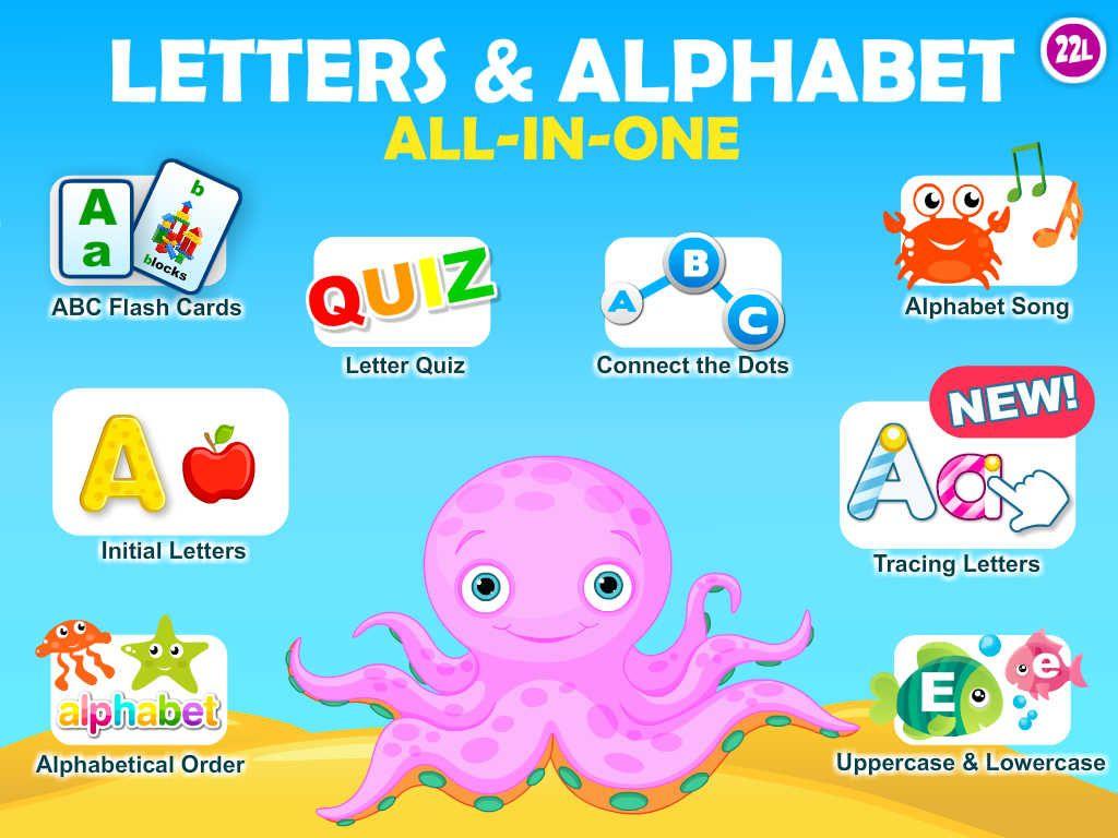 Letter Quiz • Alphabet School & Abc Games 4 Kids | Alphabet for Alphabet Tracing Apps For Ipad