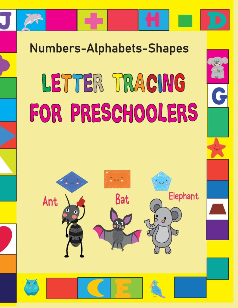 Letter Tracing Book: Letter Tracing For Preschoolers: My First Learn To  Write Workbook, Practice For Kids With Pen Control, Shape Line Tracing, Throughout Alphabet Tracing Book Walmart