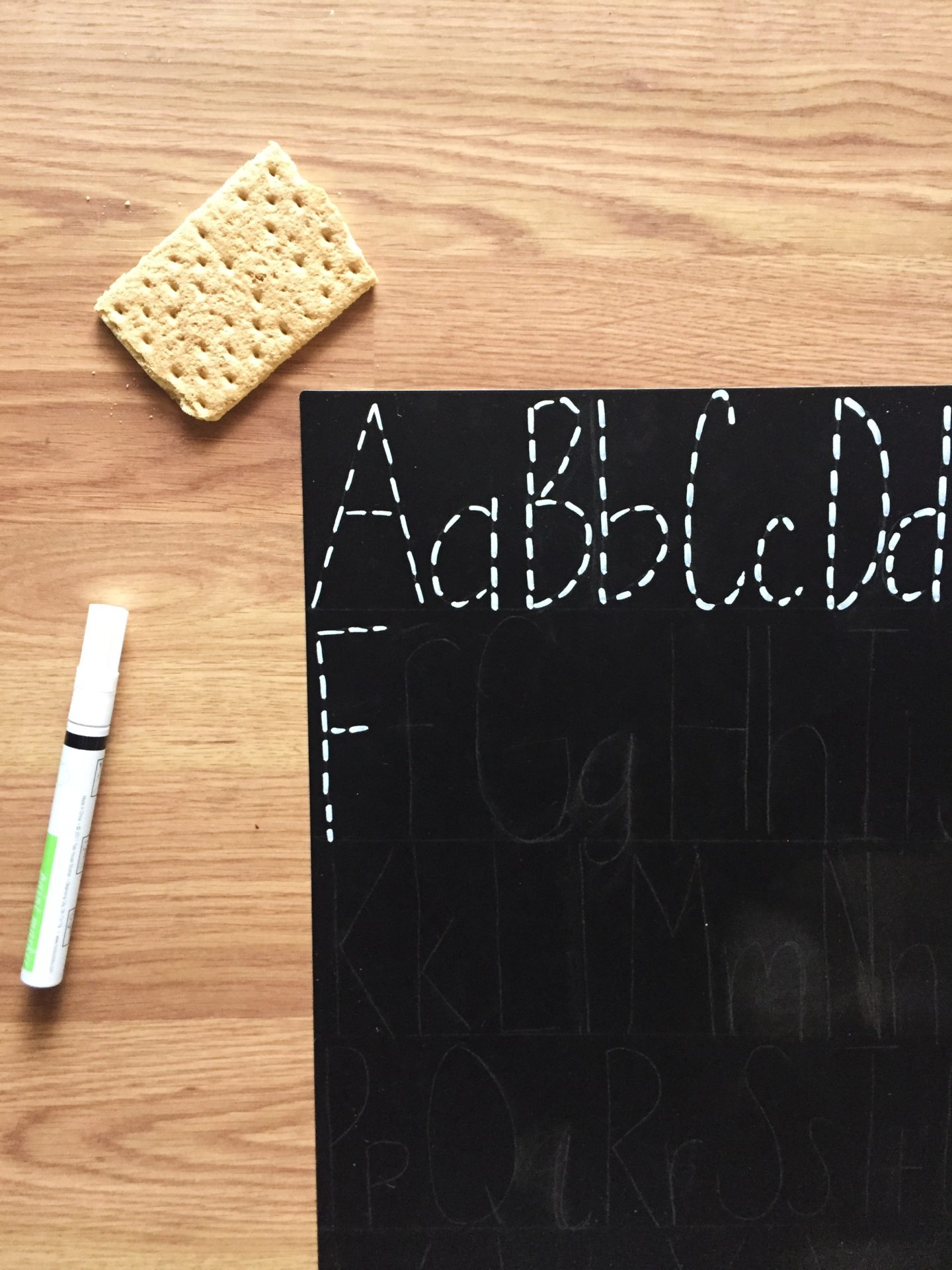 Letter Tracing Chalkboard Diy - Angela Cheatwood regarding Name Tracing Chalkboard