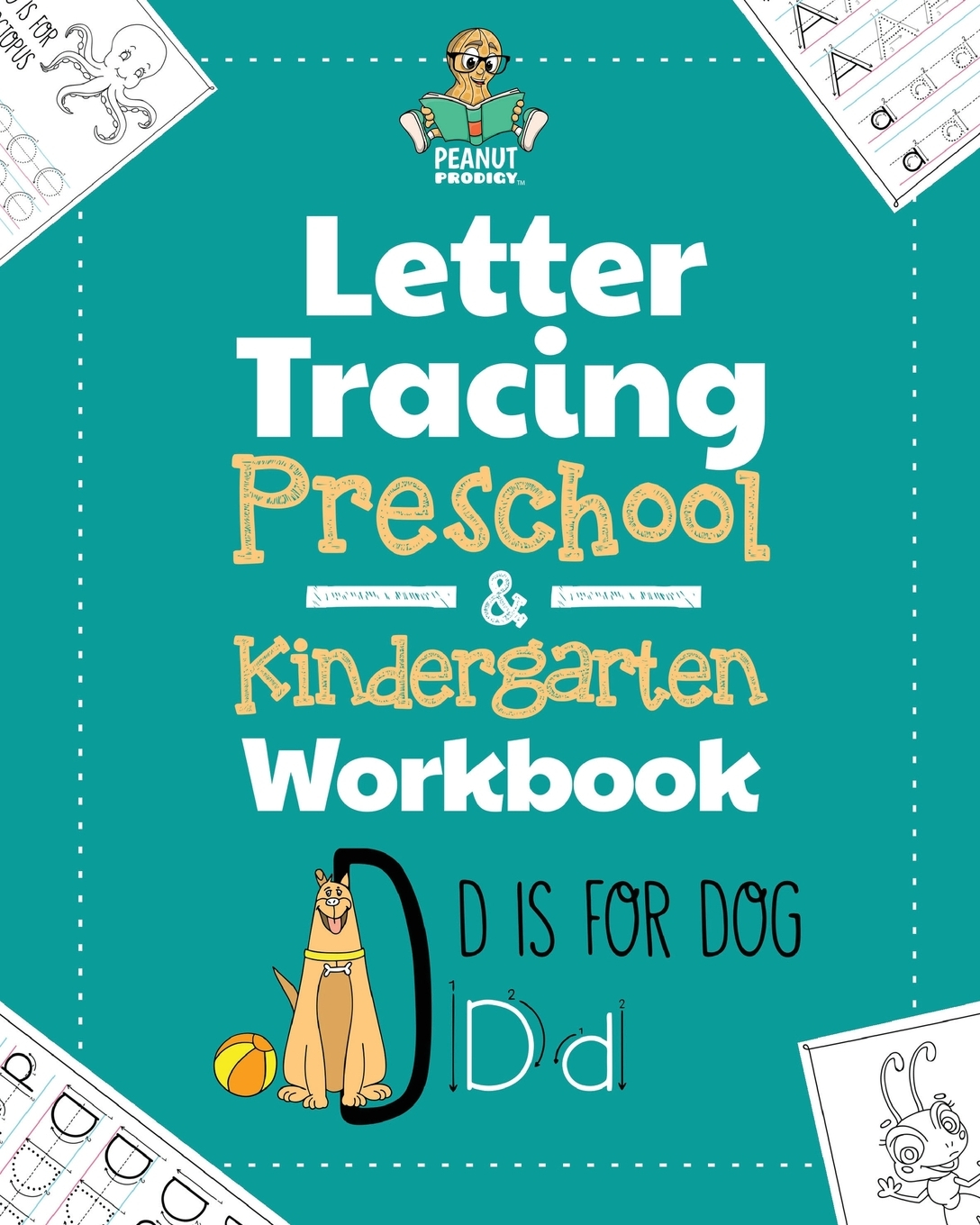 Letter Tracing Preschool & Kindergarten Workbook: Learning Letters 101 -  Educational Handwriting Workbooks For Boys And Girls Age 2, 3, 4, And 5  Years for Letter 5 Tracing