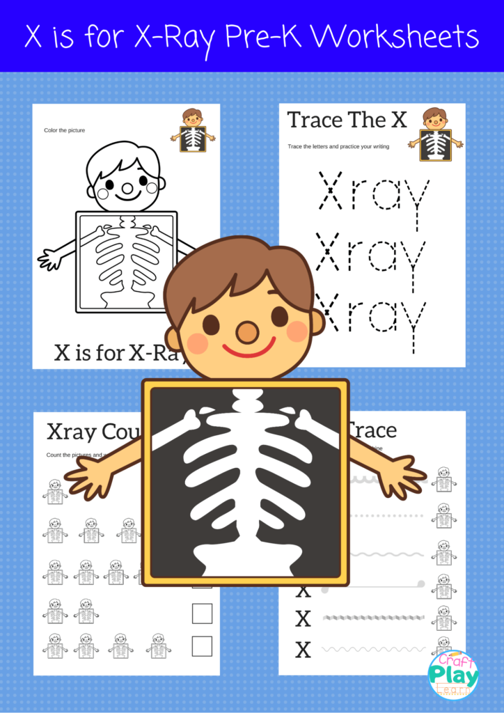 Letter X Worksheets For Preschool Kids   Craft Play Learn Inside Letter Tracing Html5
