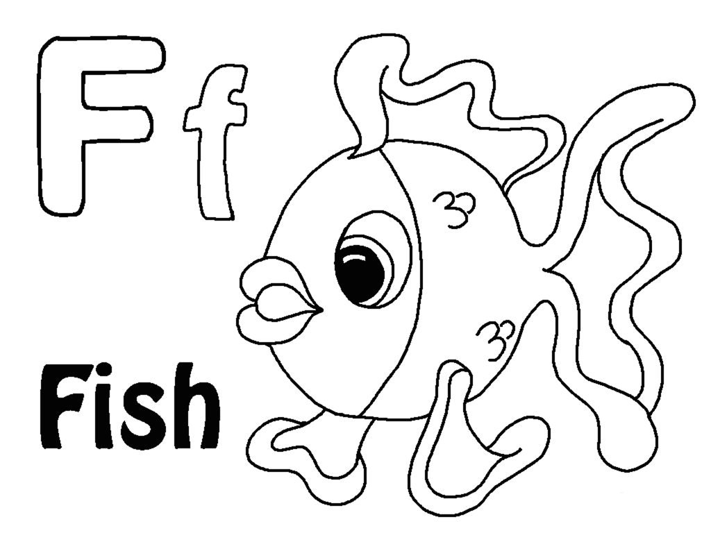 Letteroring Pages To Download And Print For Free with Letter F Worksheets Coloring Page