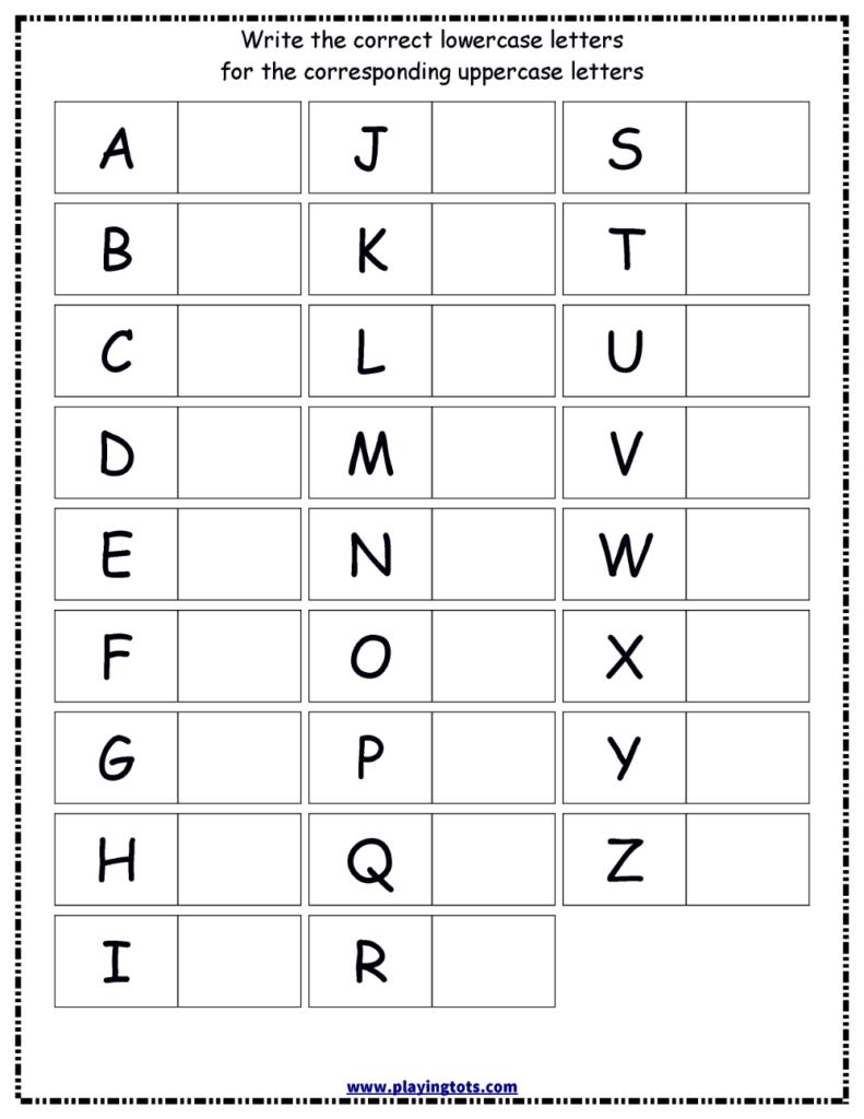 Lkg Worksheets Free Printable | Lk In 2020 | Printable With Regard To Alphabet Worksheets Pinterest