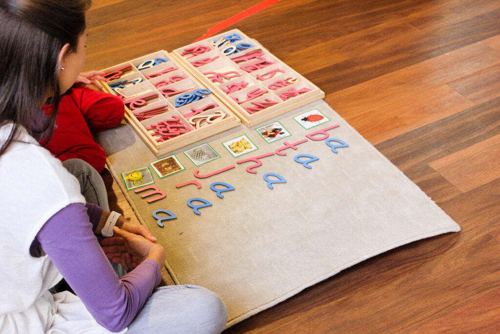 Material Spotlight: Montessori Moveable Alphabet From The