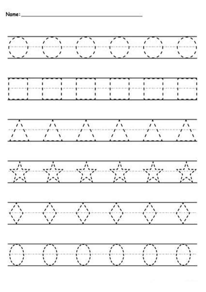 Math Worksheet : 41 Splendi Free Tracing Worksheets Photo