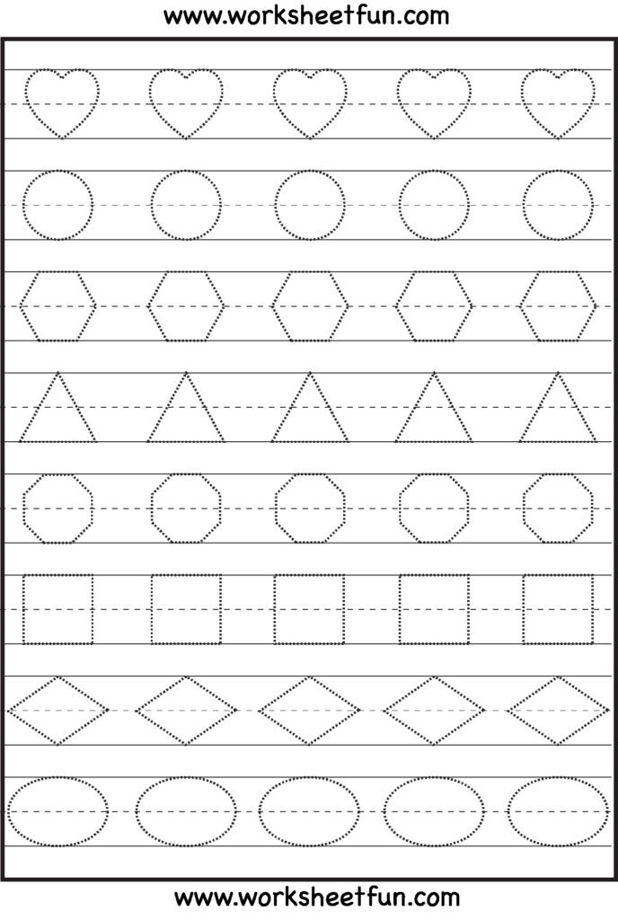 Math Worksheet : 46 Extraordinary Tracing Worksheets For