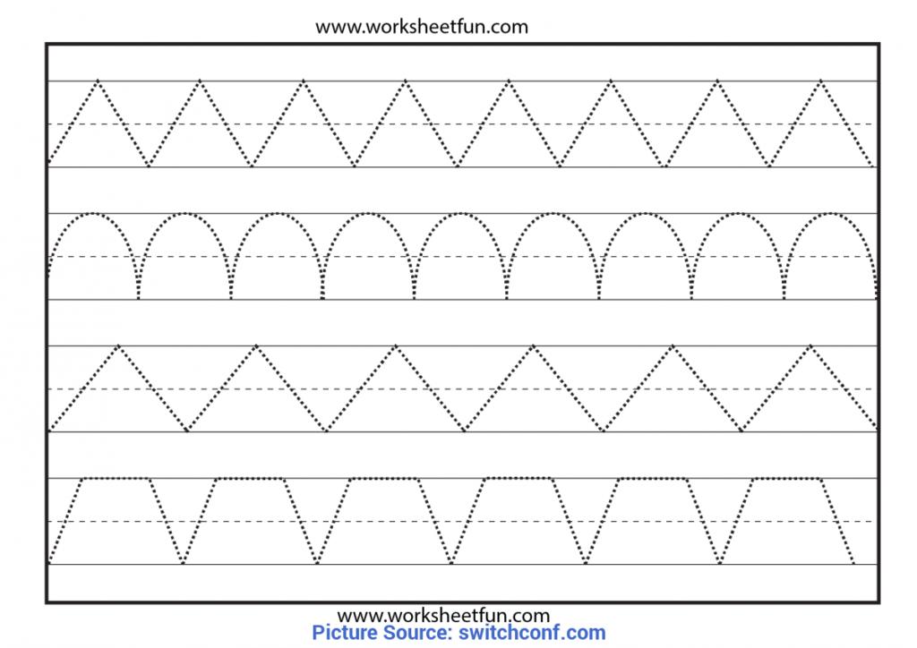 Math Worksheet : 60 Remarkable Printable Tracing Worksheets