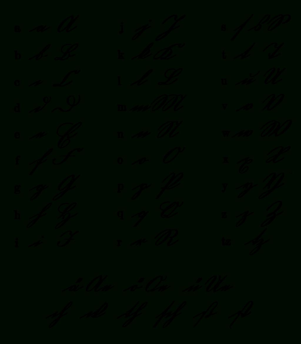 Math Worksheet ~ Alphabet In Cursiveable Images Clip Art