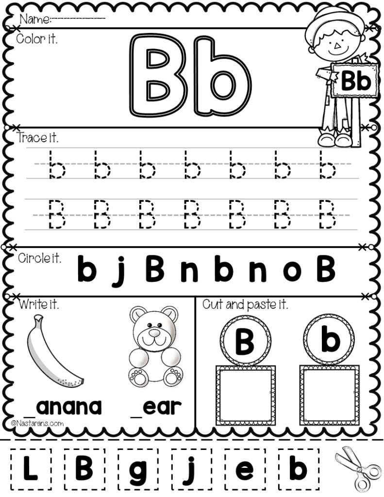 Math Worksheet : Alphabet Practice For Preschool Slide3 In Alphabet Worksheets For Kindergarten A To Z