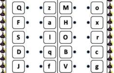 Alphabet Worksheets Matching