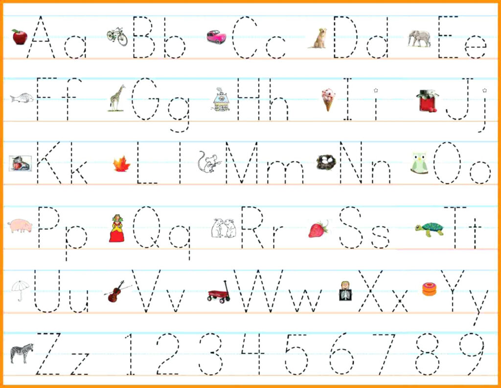 Math Worksheet : Alphabet Writing Practice Sheets Pdf Free For Letter Tracing Maker