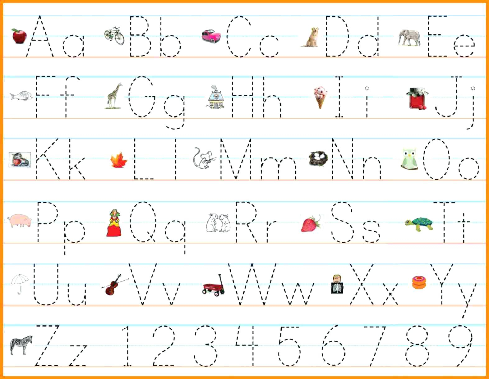 Math Worksheet : Alphabet Writing Practice Sheets Pdf Free within Alphabet Tracing Maker