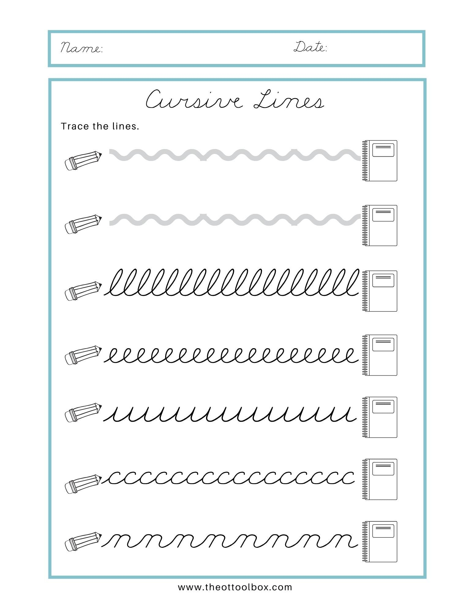 Math Worksheet : Free Cursive Name Tracingorksheets