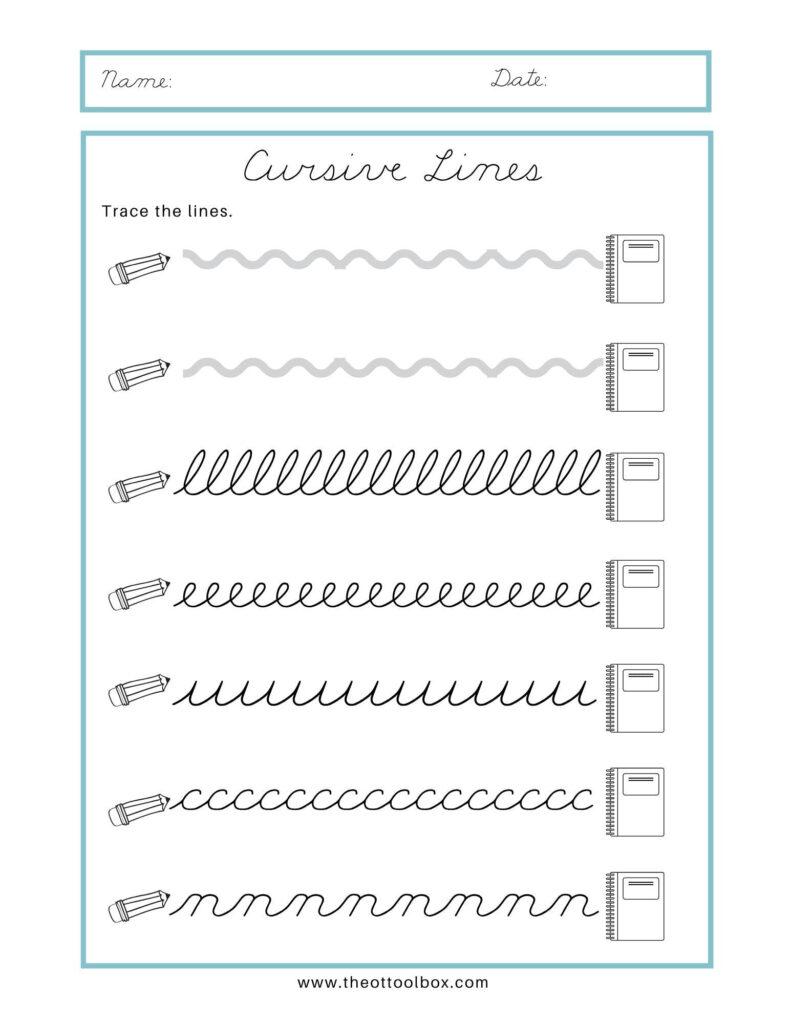 Math Worksheet : Free Cursive Name Tracingorksheets