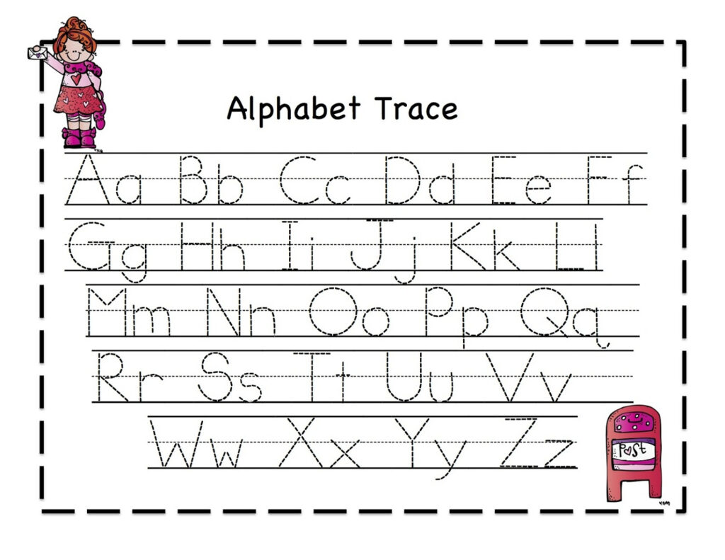 Math Worksheet : Free Letter Tracing Worksheets For Within Alphabet Tracing Coloring Pages