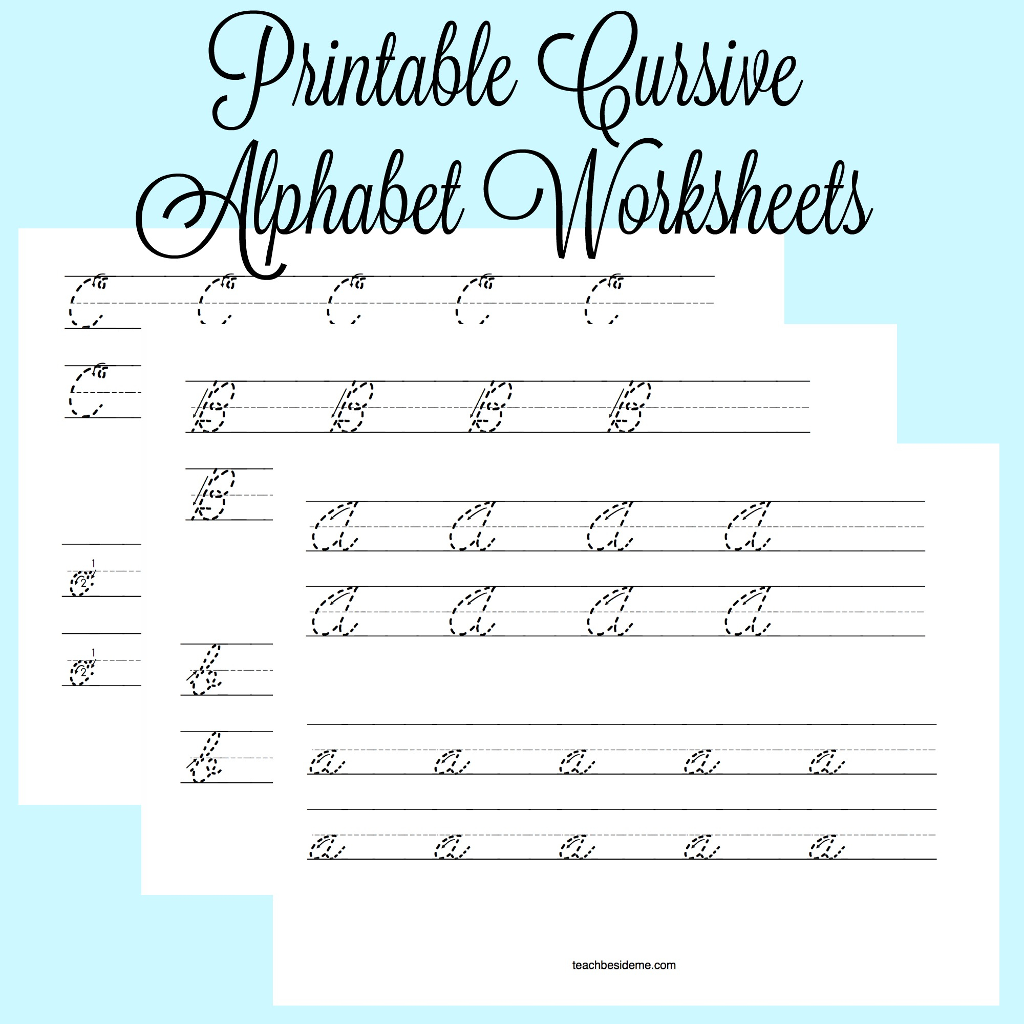 Math Worksheet : Math Worksheet Cursive Alphabet Worksheets