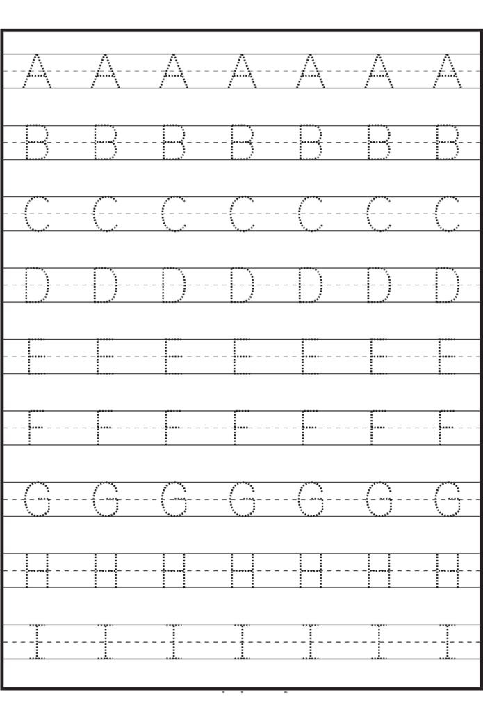 Math Worksheet : Math Worksheet Letter Tracing Sheets