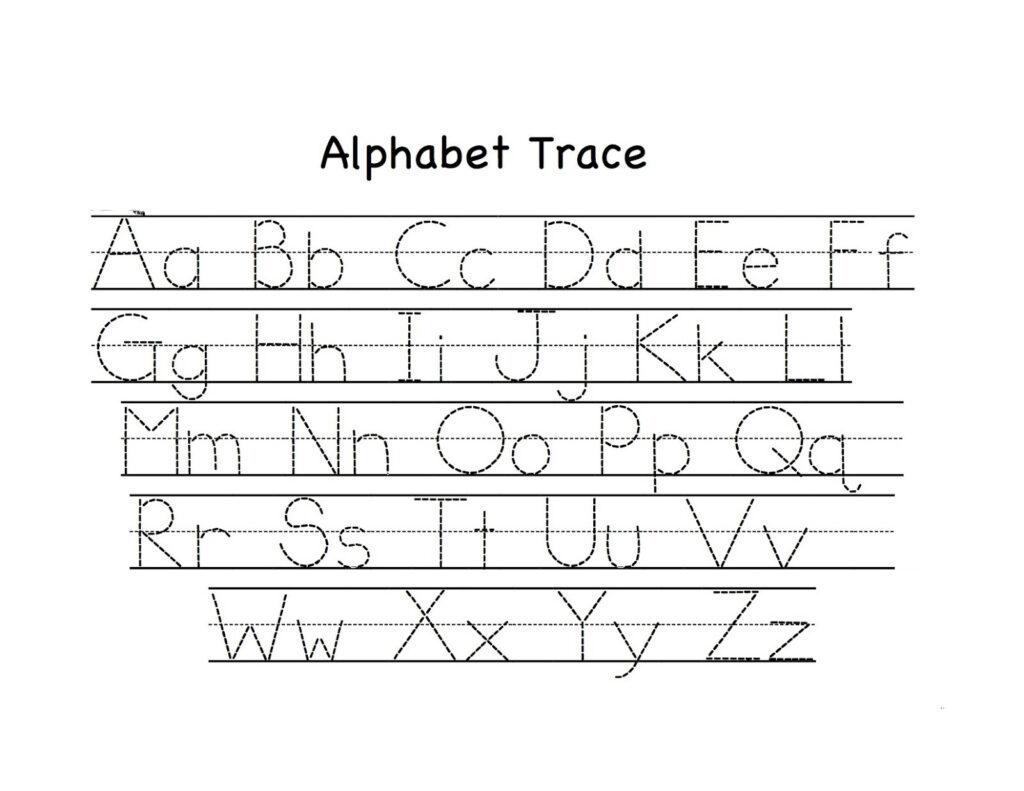 Math Worksheet : Preschoolet Trace Worksheet Tracing