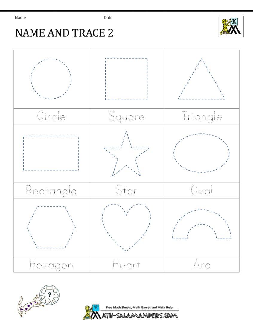 Math Worksheet : Printable Kindergarteneets At For