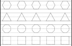 Square Tracing Worksheets For Preschool