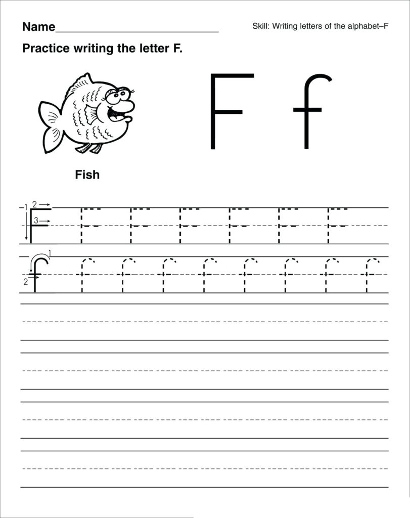 Math Worksheet Worksheets For Playgroup Students Photo Ideas With Letter F Worksheets For Kindergarten Pdf