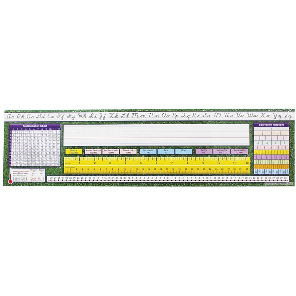 """Modern Cursive Intermediate Desk Plates, 19"""" X 5"""", Pack Of 36"""