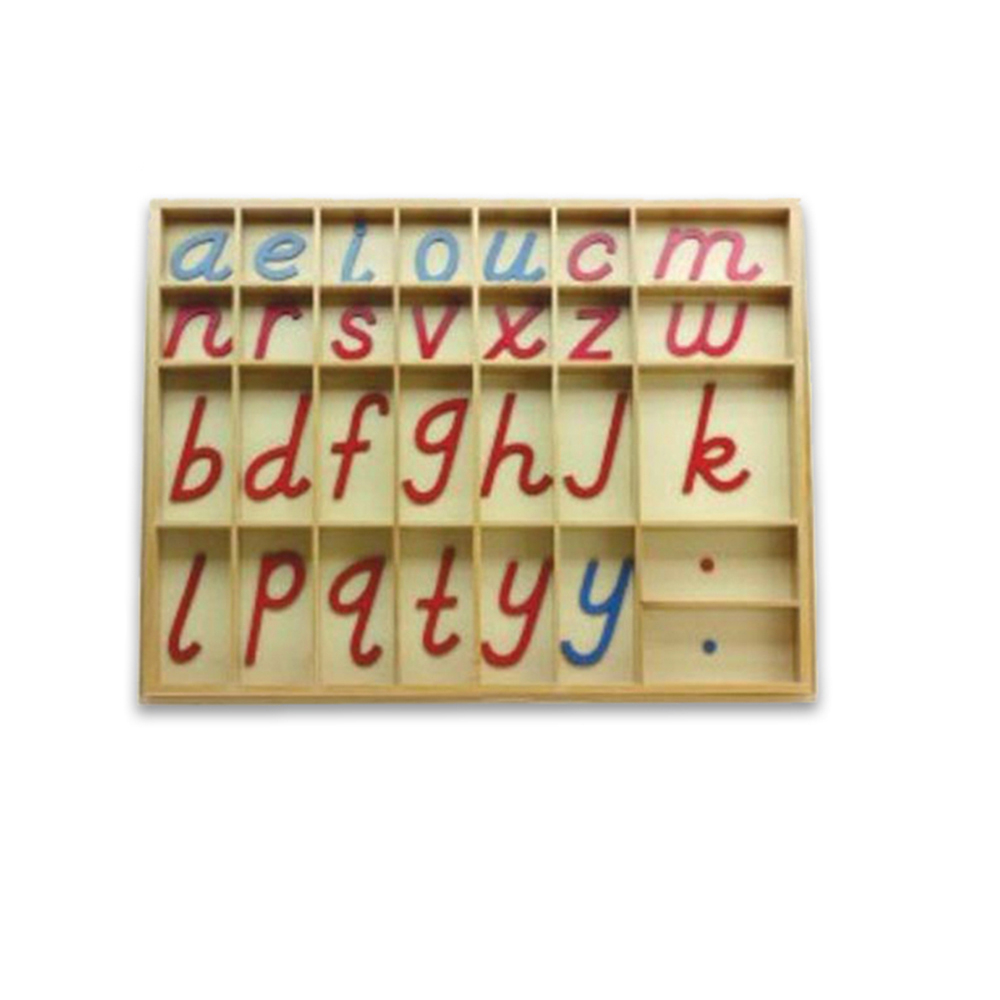 Montessori Educational Toys Movable Wooden Single Hebrew