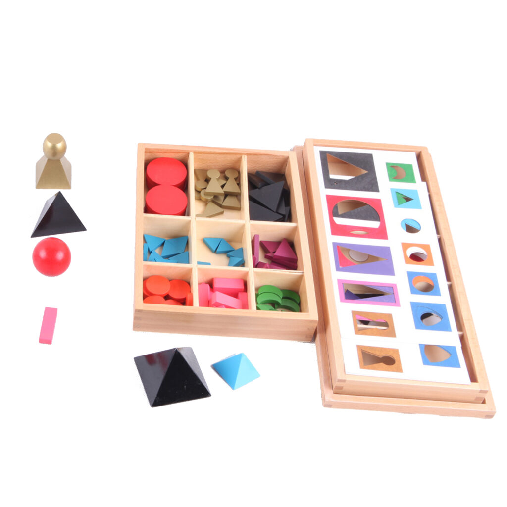 Montessori Materials L080 Basic Wooden Grammar Symbols With