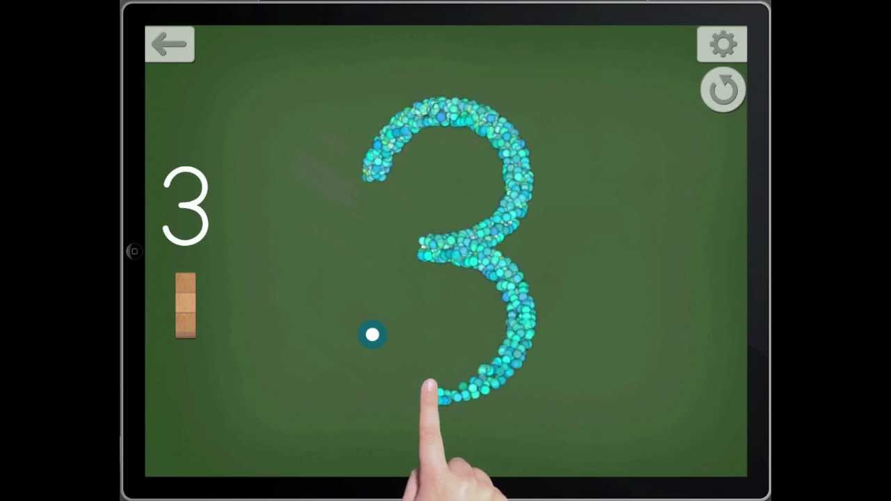 Montessori Numbers - Tracing Activity Demo - For Ipad And Iphone within Letter Tracing Ipad App