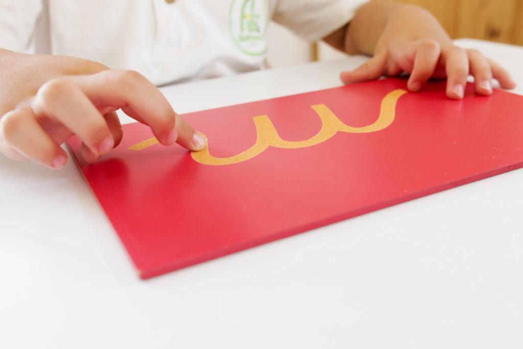 Montessori Read And Write : Sandpaper Letters – Diy And In Letter Tracing Montessori
