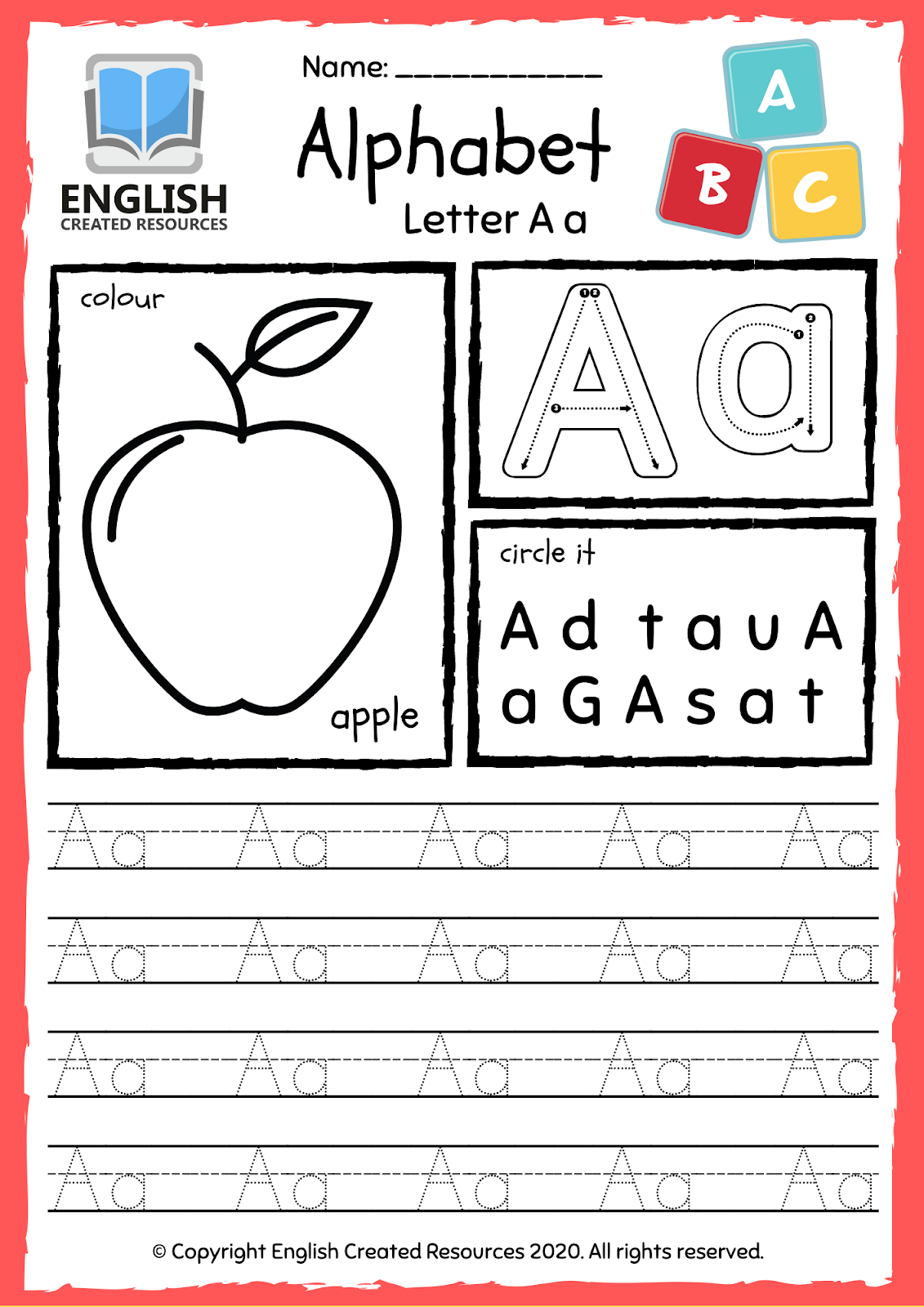 My Alphabet Tracing And Colouring Book inside Letter Tracing Html5